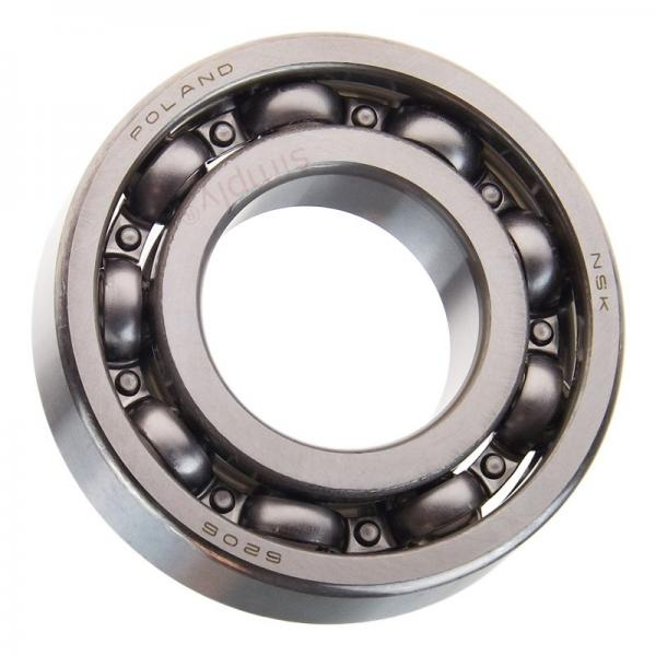 Chrome Steel/Stainless Steel Bearing 6206-RS/2RS/Zz Deep Groove Ball Bearing/Ball Bearing/Bearings 6206 #1 image