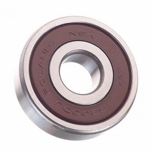 High quality rubber seal Japan imported bearings motor bearings nsk 6200du #1 image